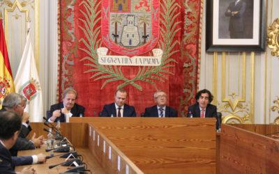 """Acto presentación  libro """"Orígenes y evolución del Régimen Económico y Fiscal de Canarias"""""""