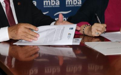 La Asociación de Asesores Fiscales de Canarias y la Fundación Canaria MBA firma un convenio de colaboración