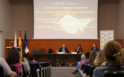 Celebradas varias Jornadas Formativas (REF, Normas impositivas, Sistema Tributario Español…etc)