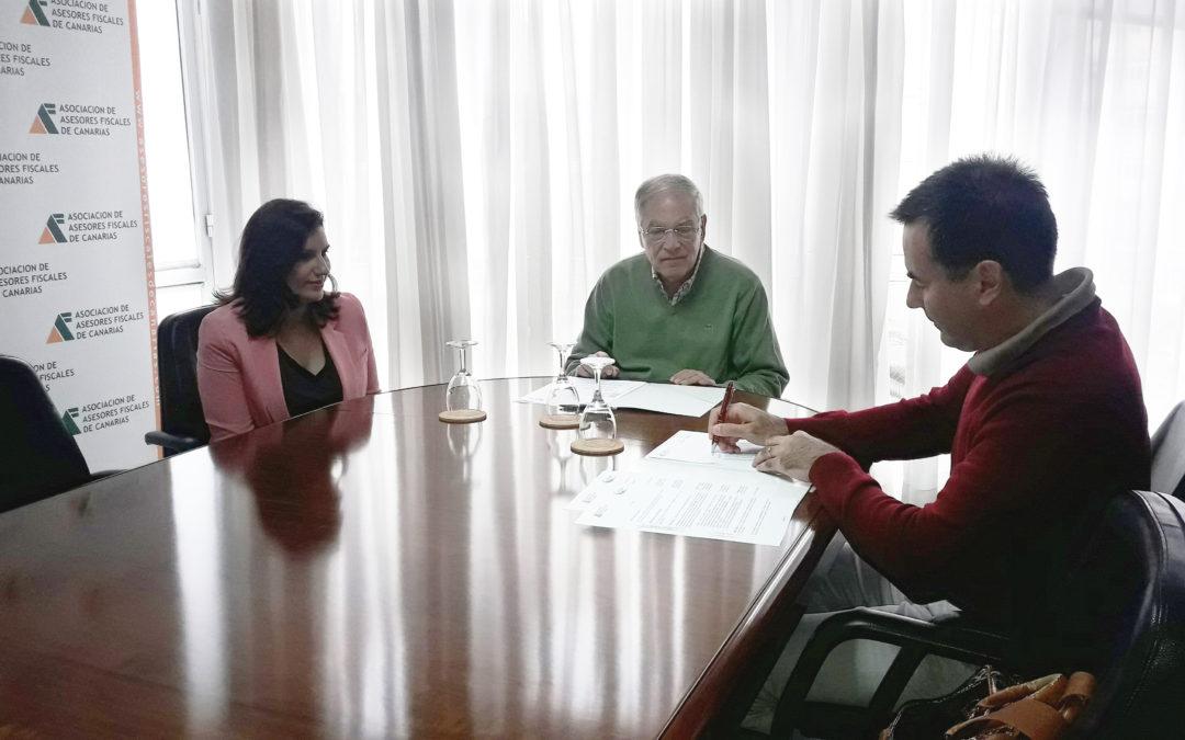 La Asociación y la empresa Wedge Global firman un convenio de colaboración