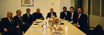 Primera representación de la AAFC en la Federación