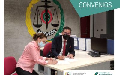 La Asociación y el Colegio de Graduados Sociales de Gran Canaria y Fuerteventuran firma un convenio de colaboración en materia formativa