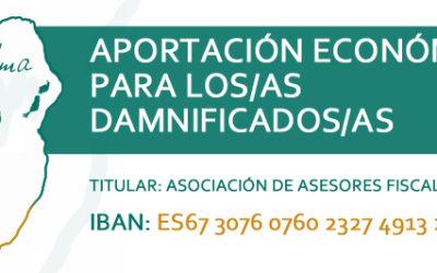 ACCIONES AAFC EN APOYO A LOS/AS DAMNIFICADOS/AS CRISIS VULCANOLÓGICA DE LA ISLA DE LA PALMA